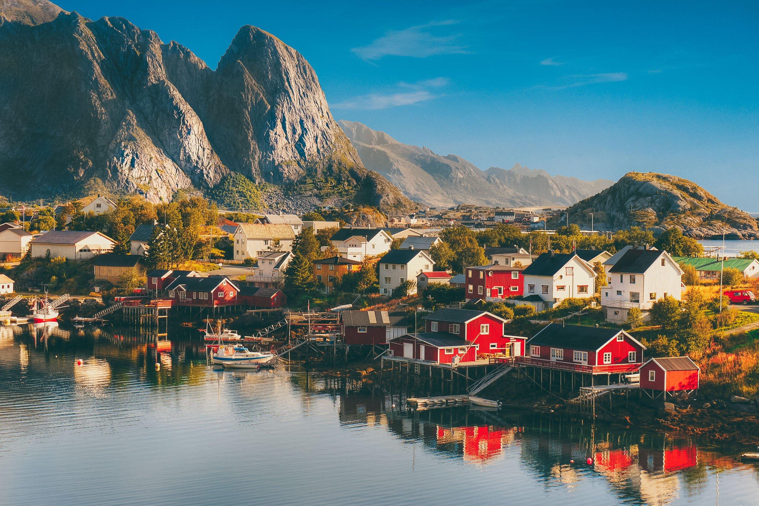 Norvege Plus Belle Ville