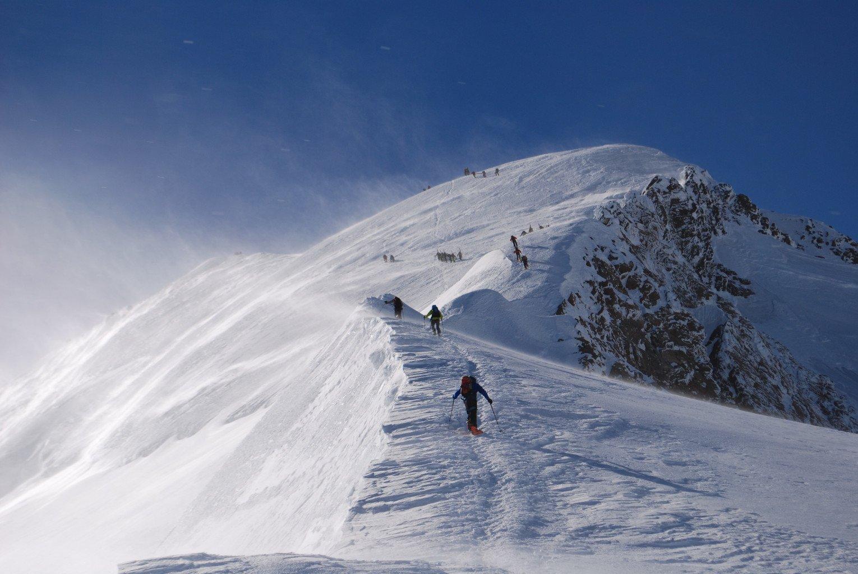 Crète du Dome, mont Blanc